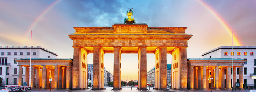 Berlin-Brandenburger-gate-with-rainbow