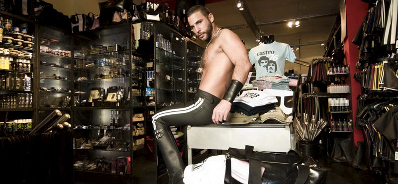 from Heath gay leather store